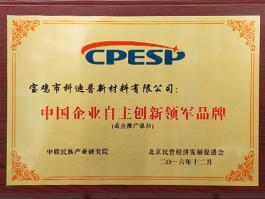 中国企业自主创新领军品牌